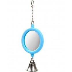 Jucarie oglinda rotunda pt pasari