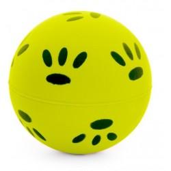 Jucarie minge neon cu labute ø 4,7 cm